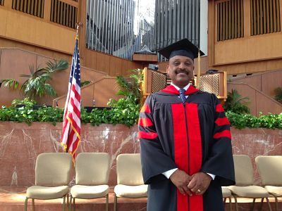 Willie Jolley Doctorate Photo